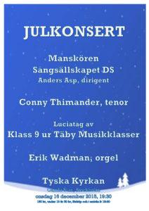20151216 Julkonsert